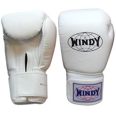 WINDY ウィンディ トレーニンググローブ/ペア BGVH 14oz 白 nts