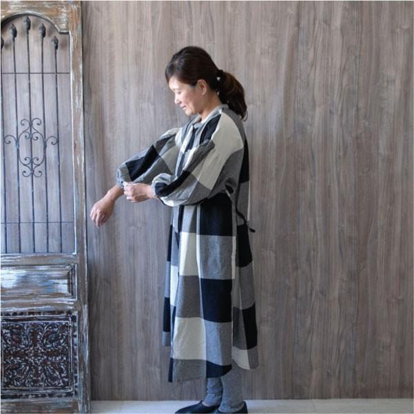 ワンピース  ナチュラル服 30代 40代 ゆったり 大きめサイズ カジュアル|ntsen|05