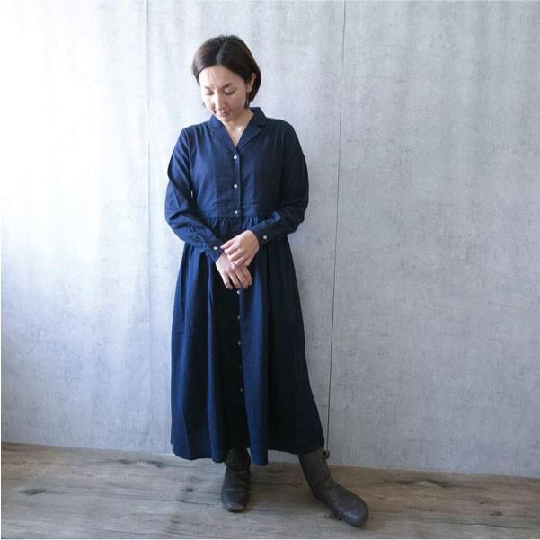 ワンピース  ナチュラル服 30代 40代 ゆったり 大きめサイズ カジュアル|ntsen|14