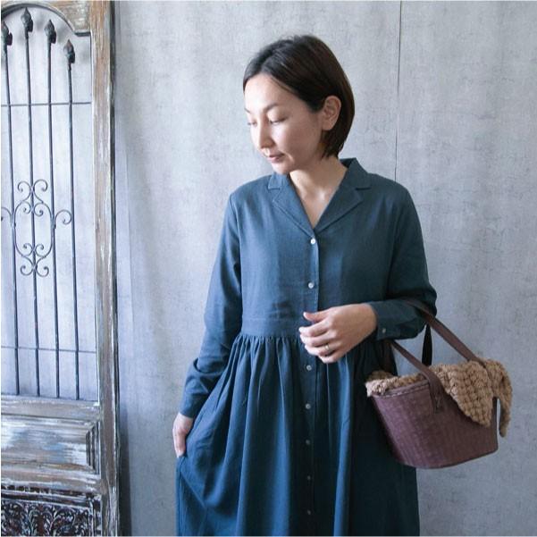 ワンピース  ナチュラル服 30代 40代 ゆったり 大きめサイズ カジュアル|ntsen|16