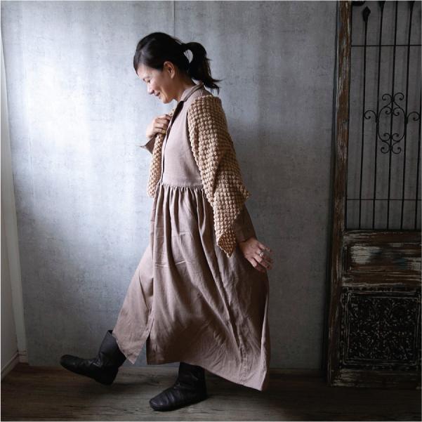 ワンピース  ナチュラル服 30代 40代 ゆったり 大きめサイズ カジュアル|ntsen|10