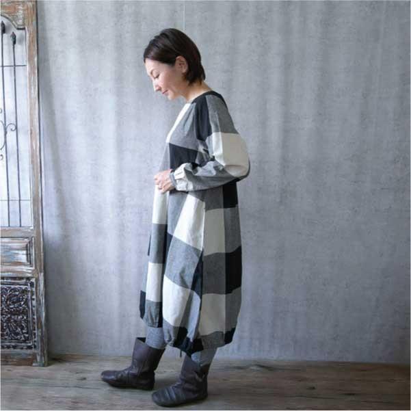 ワンピース  ナチュラル服 30代 40代 ゆったり 大きめサイズ カジュアル|ntsen|03