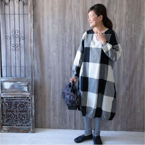 ワンピース  ナチュラル服 30代 40代 ゆったり 大きめサイズ カジュアル|ntsen|06