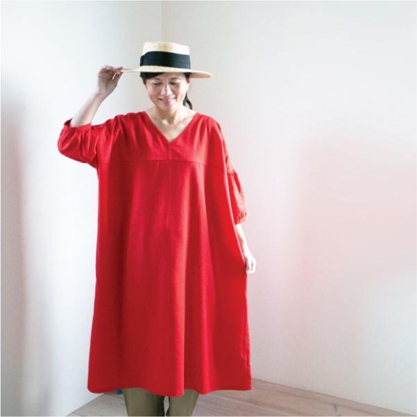 ワンピース  ナチュラル シンプル カジュアル 綿 コットン 麻  春 春ワンピース|ntsen|07