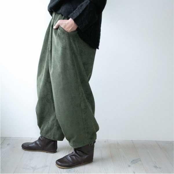 パンツ   ナチュラル服 カジュアル 30代 40代 ベーシック 無地|ntsen|14