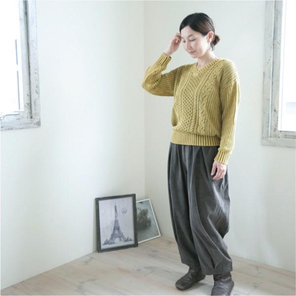 パンツ   ナチュラル服 カジュアル 30代 40代 ベーシック 無地|ntsen|03
