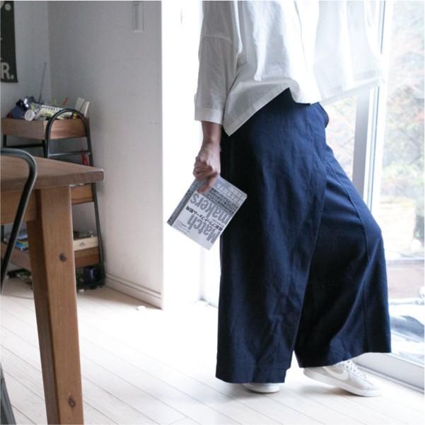 パンツ   天然素材 ふんわり ゆったり 30代 40代|ntsen|03