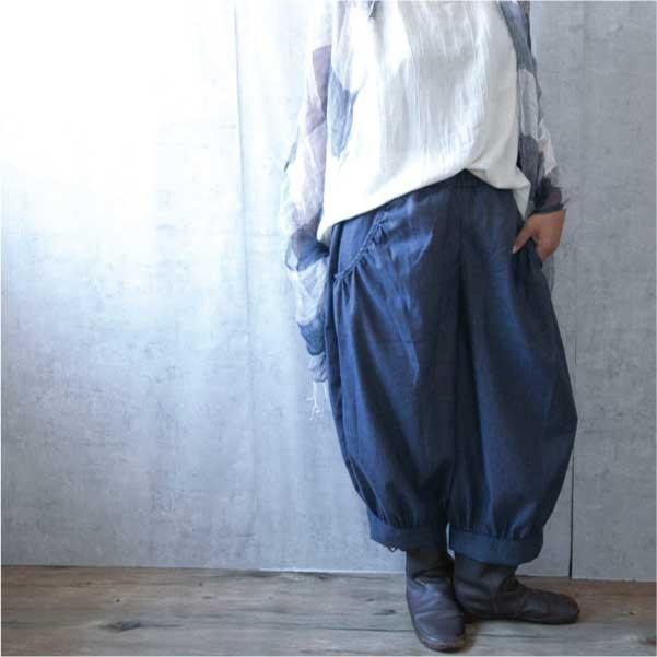 パンツ  ナチュラル服 30代 40代 ゆったり 大きめサイズ カジュアル  秋 秋ボトムス|ntsen|16
