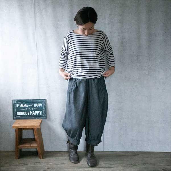 パンツ  ナチュラル服 30代 40代 ゆったり 大きめサイズ カジュアル  秋 秋ボトムス|ntsen|08