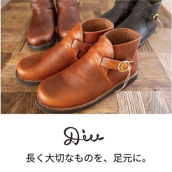 ブーツ  ショートブーツ オブリーク レザーシューズ ローヒール 本革 牛革 ntsen 03