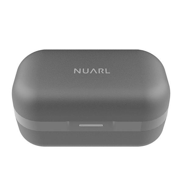 NUARL N6 +抗菌イヤピース バンドルセット aptX対応 IPX4耐水 連続11h再生 マイク付き Bluetooth5 完全ワイヤレス ステレオイヤホン(シルバー)|nuarl|03