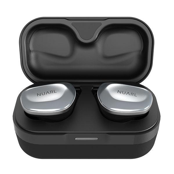 NUARL N6 Bluetooth5/aptX対応/IPX4耐水/連続11h再生/完全ワイヤレスイヤホン(シルバー) nuarl 04
