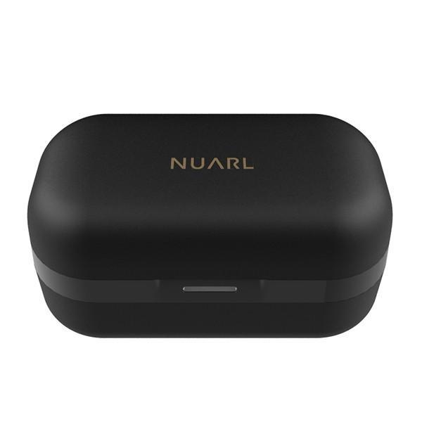 NUARL N6 Pro +抗菌イヤピース バンドルセット aptX対応 IPX4耐水 連続11h再生 マイク付き Bluetooth5 完全ワイヤレス ステレオイヤホン(マットブラック)|nuarl|03