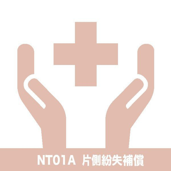NUARL NT01A/B/L片側紛失補償チケット nuarl