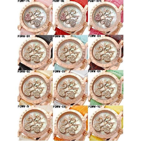 レディース腕時計/アレサンドラオーラ 人気 ピンクゴールド アレッサンドラオーラ ハートチャーム/腕時計/女性用腕時計|nuchigusui|03