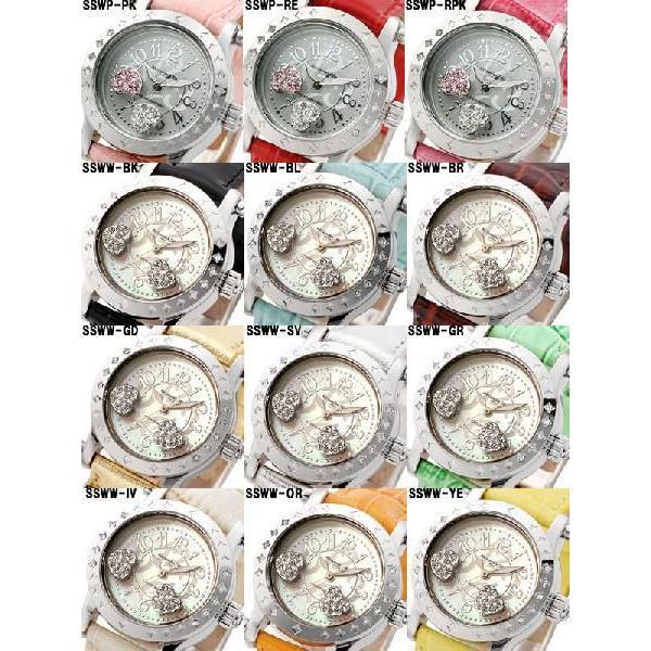 レディース腕時計/アレサンドラオーラ 人気 ピンクゴールド アレッサンドラオーラ ハートチャーム/腕時計/女性用腕時計|nuchigusui|04