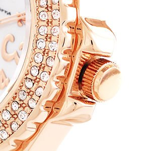 AneCan掲載人気 サルバトーレ・マーラ   ピンクゴールド 天然ダイヤ レディース腕時計 Salvatore Marra SM7031|nuchigusui|05