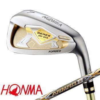 本間ゴルフ IS-03 アイアンセット 6本組(#6〜#11) 2Sグレード  ARMRQ8 49カーボンシャフト