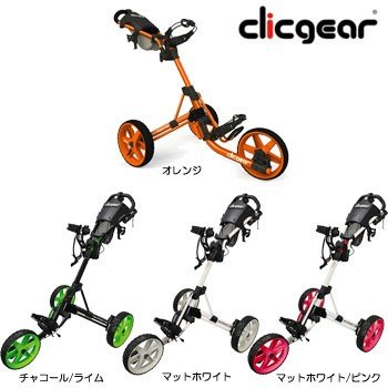 クリックギア プッシュカート 3.5+  ゴルフカート 手引きカート セルフ 日本仕様 [Clicgear Push cart 3.5 手引きカート]