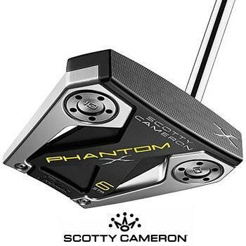 スコッティキャメロン 2019 PHANTOM X 6 STR パター  [SCOTTY CAMERON マレット ファントムX 6 STR ストレートシャフト]