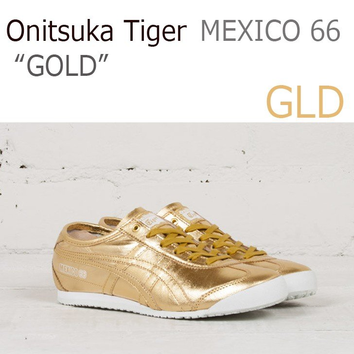 2019人気の Onitsuka Tiger シューズ Tiger MEXICO 66 シューズ ゴールド オニツカタイガー メキシコ66 D5R1L-9494 シューズ スニーカー シューズ, カッティングシート販売 印刷工房:cddf354b --- theroofdoctorisin.com