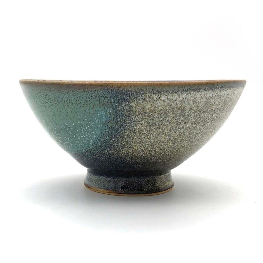 ご飯茶碗『桜』グリーン|nunobikiyaki|03