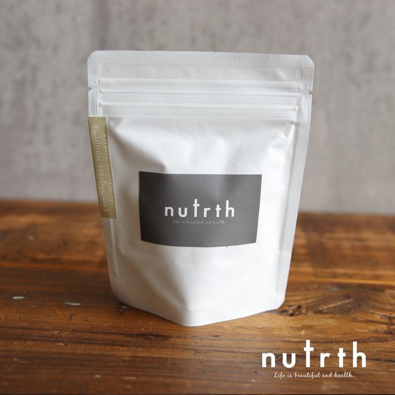 nutrth  レモングラスほうじ茶 ティーバッグ 3g×5ヶ|nutrth