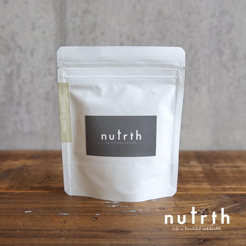 nutrth バジル緑茶 3g×5ヶ|nutrth