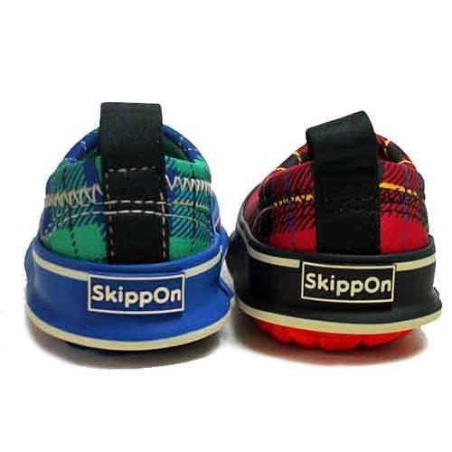 スキッポン Skippon スリッポン タータンチェック スニーカー キッズ 靴|nws|06