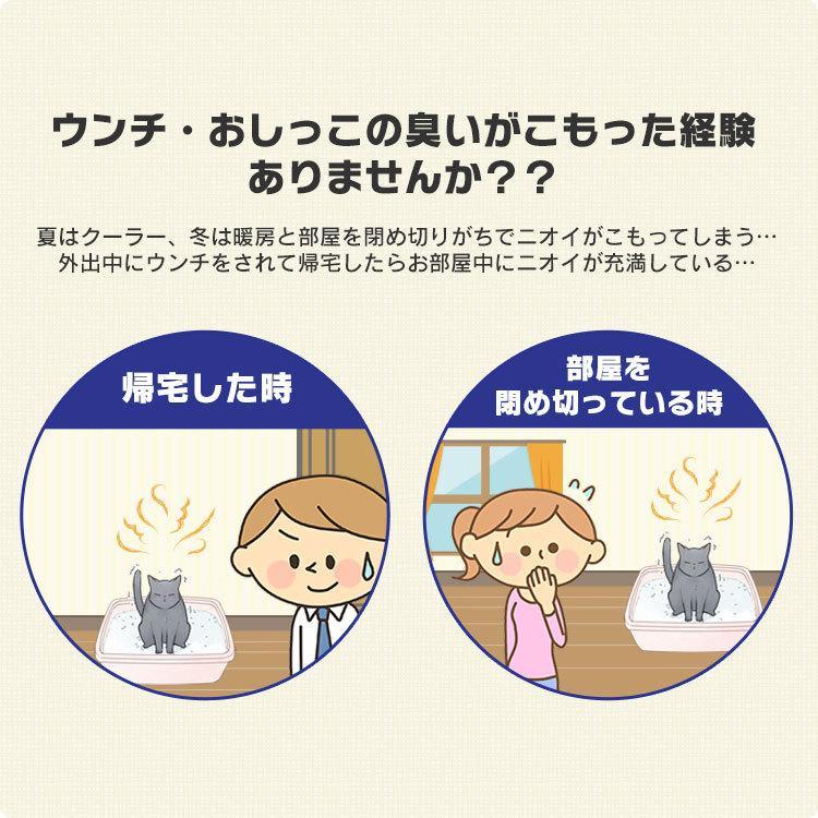 猫 トイレ 猫トイレ おすすめ 大型 システム おしゃれ におい対策 上から 匂い対策 お部屋のにおいクリア消臭 猫用システムトイレ ONC-430 アイリスオーヤマ nyanko 03