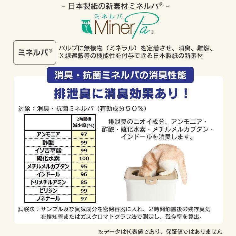 猫 トイレ 猫トイレ おすすめ 大型 システム おしゃれ におい対策 匂い対策 お部屋のにおいクリア消臭 猫用システムトイレハーフ ONCH-530 アイリスオーヤマ|nyanko|11