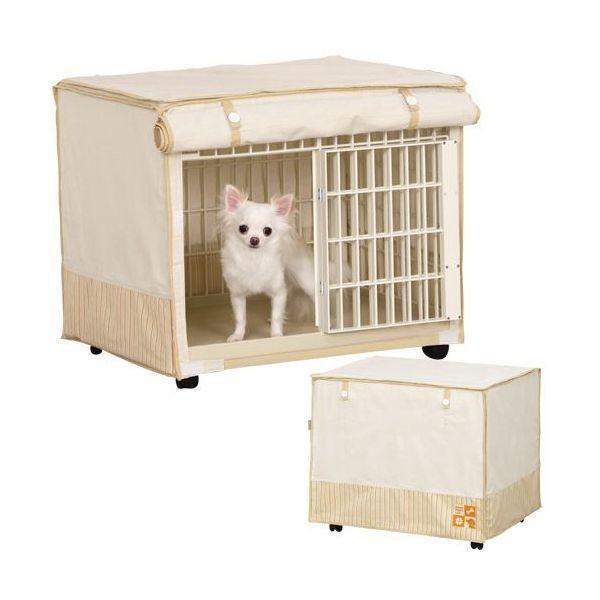 犬 ケージ 室内 おしゃれ 1段 猫ケージ キャットケージ ケージ飼い ペットケージ カバー付き アイリスオーヤマ リラックスケージ RLC-660 nyanko 02