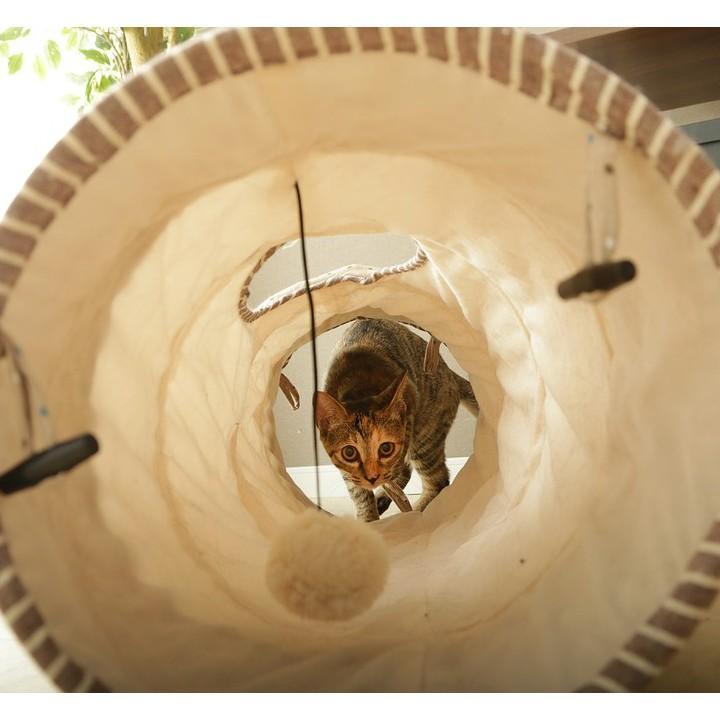 猫 おもちゃ 猫用 玩具 ペット ペット用おもちゃ トンネルおもちゃ カシャカシャ キャットトンネル 人気 おすすめ とんねる|nyanko|03