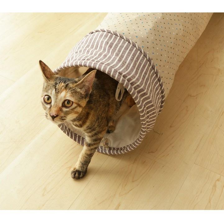 猫 おもちゃ 猫用 玩具 ペット ペット用おもちゃ トンネルおもちゃ カシャカシャ キャットトンネル 人気 おすすめ とんねる|nyanko|05