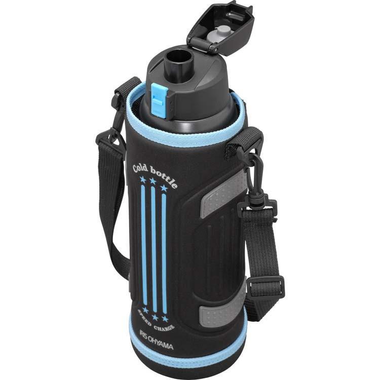 水筒 ステンレスケータイボトル ダイレクトボトル DB-1500 レッド ブルー アイリスオーヤマ|nyanko|06