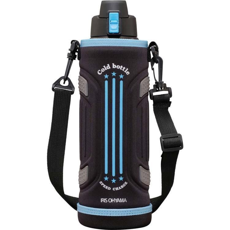 水筒 ステンレスケータイボトル ダイレクトボトル DB-1500 レッド ブルー アイリスオーヤマ|nyanko|07
