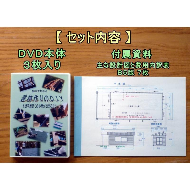 動画でわかる建物作りのDIY DVD3枚組 nyanmaru-kobo 02