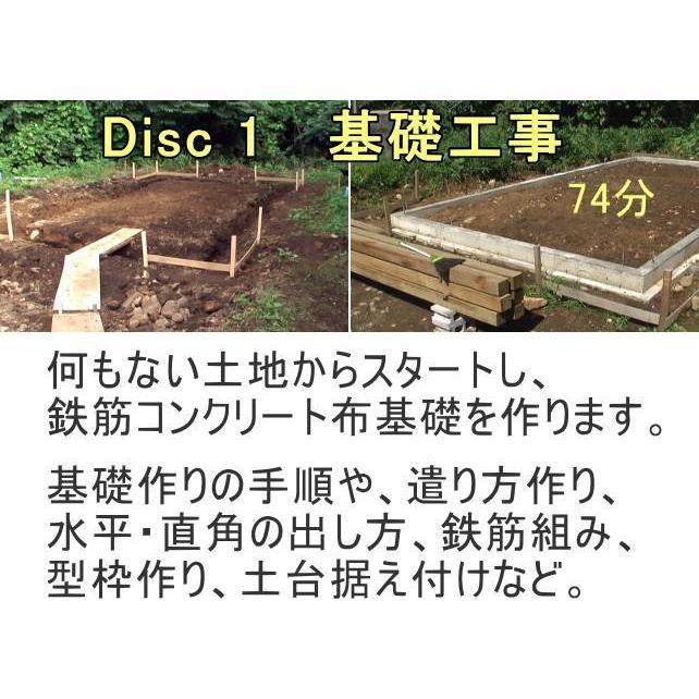 動画でわかる建物作りのDIY DVD3枚組 nyanmaru-kobo 03