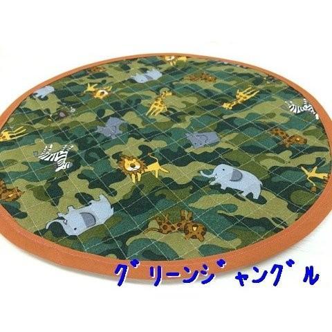 猫 ネコ ねこ キャット マット ベッド キルティング 丸型 円形 手作り ( 丸マット 小) nyanpakusengen 02