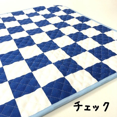 猫 ネコ ねこ キャット マット ベッド キルティング 手作り (正方形クッションマット)|nyanpakusengen|03