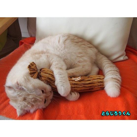 猫 ネコ ねこ キッカー おもちゃ マタタビ またたび 国産 天然 けりぐるみ ケリケリ わら納豆 (わらニャッ豆)(719) nyanpakusengen 04