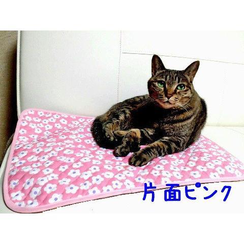 猫 ネコ ねこ キャット マット ベッド キルティング 長方形 両面 リバーシブル 手作り (キルティング2枚重ねマット)(339)|nyanpakusengen|04