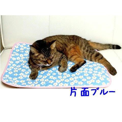 猫 ネコ ねこ キャット マット ベッド キルティング 長方形 両面 リバーシブル 手作り (キルティング2枚重ねマット)(339)|nyanpakusengen|05