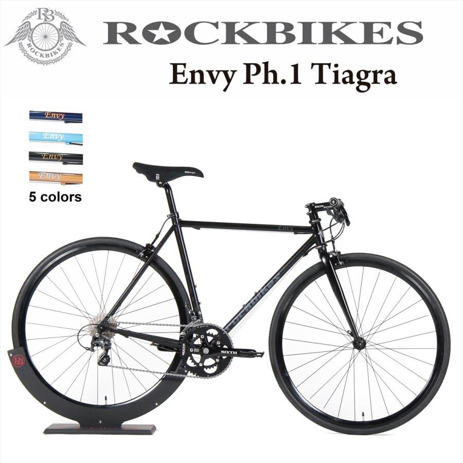 オープン記念 ロードバイク クロスバイク 完成品 Rockbikes Envy Ph.1 Flat Bar Tiagra(ロックバイクス エンヴィー フェーズ1 フラットバー ティアグラ) 700c