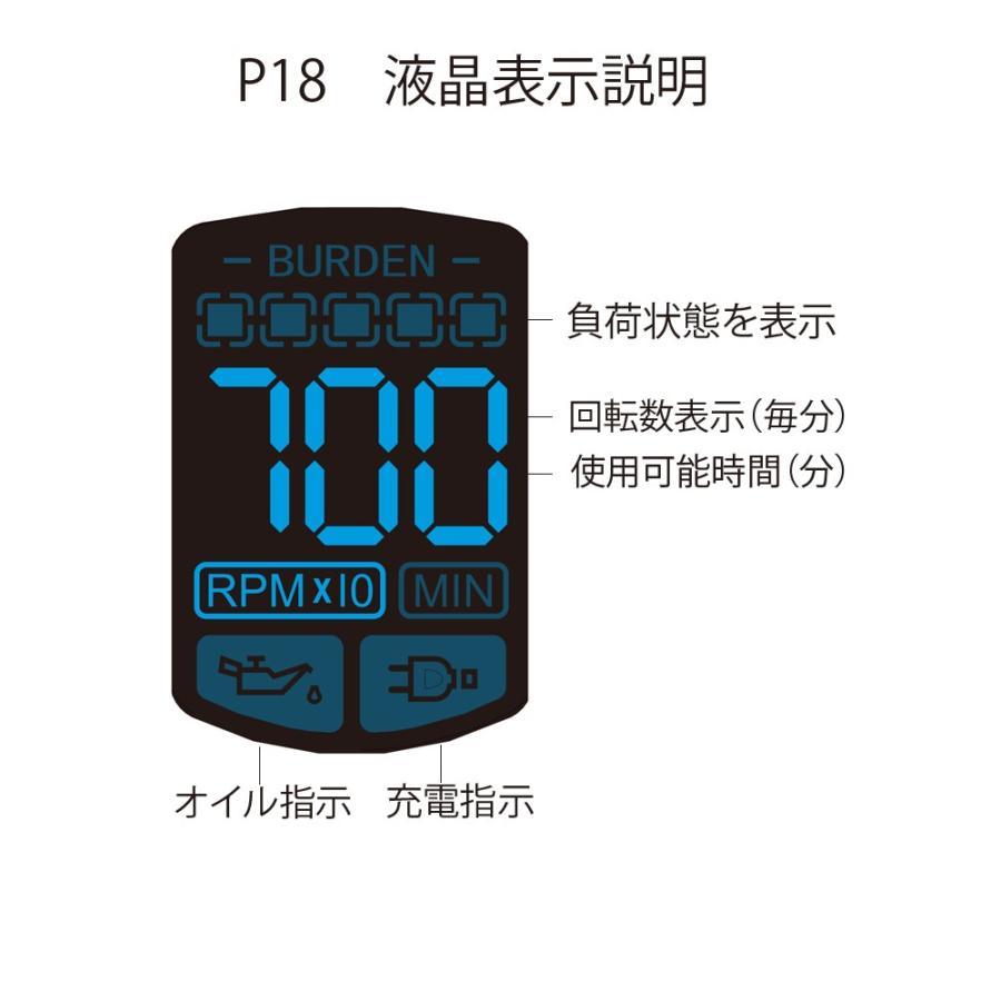 プロ用バリカン BTM P-18 送料無料 簡単フェードカット 充電式/コードレス|nylonpink|03