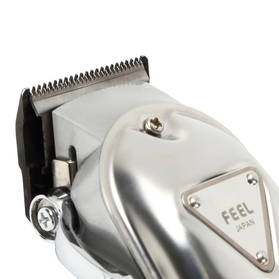 プロ用バリカン FEELクリッパー ザ・クラシック プレミア 送料無料 フェードカット 充電式/コードレス nylonpink 05