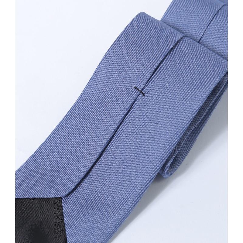 カルバンクライン ネクタイ ブランド おしゃれ プレゼント ギフト 黒 メンズ CK Calvin Klein ブラック 紳士用 レギュラー シルク o-kini 14