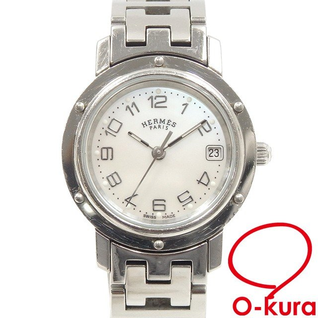 【スーパーセール】 エルメス 腕時計 クリッパー レディース クォーツ, ブランドShop オレンジクッキー 2184c93d