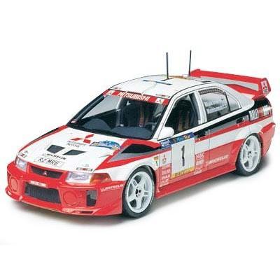 送料無料 タミヤ 1/24 スポーツカーシリーズ No.203 三菱 ランサー エボリューション V WRC プラモデル 24203