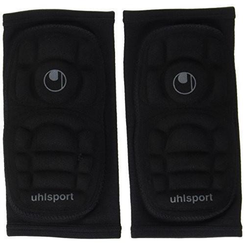 送料無料 uhlsport(ウールシュポルト) エルボーパッド2 肘 保護用 ブラック M U1021